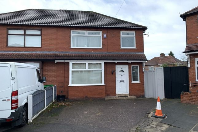 3 bed semi-detached house to rent in Holmleigh Avenue, Blackley, Manchester M9
