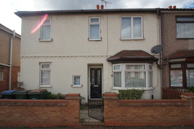 3 bed end terrace house to rent in Terry Road, Coventry