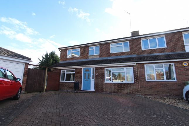 Thumbnail Semi-detached house for sale in St Margarets Close, Newport Pagnell, Buckinghamshire