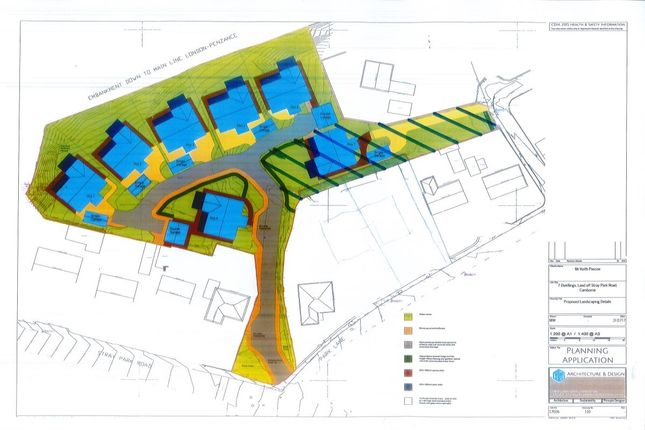 Thumbnail Land for sale in Stray Park Road, Camborne