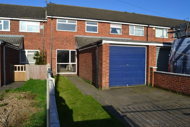 Thumbnail Town house to rent in Station Road, North Hykeham, Lincoln