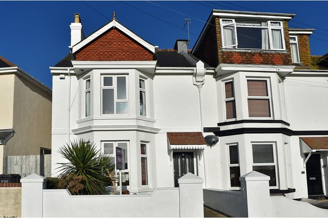 Thumbnail End terrace house for sale in Nelson Road, Brixham