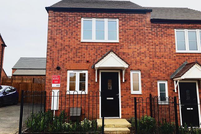 Thumbnail Semi-detached house to rent in Kirtley Road, Wellingborough, Wellingborough