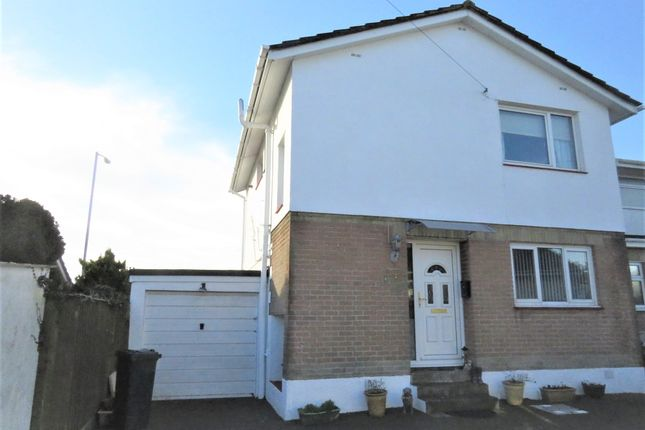 Thumbnail Semi-detached house for sale in Taylor Road, Saltash