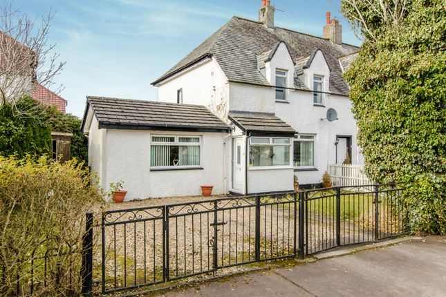 Thumbnail End terrace house for sale in Manseview Terrace, Eaglesham, Glasgow