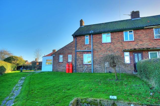 Thumbnail Semi-detached house for sale in Cliff Close, Reedham