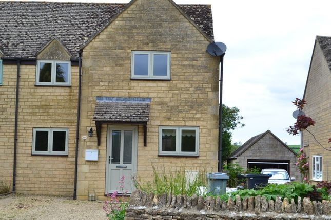 Thumbnail Semi-detached house to rent in Shipton Road, Ascott-Under-Wychwood, Chipping Norton