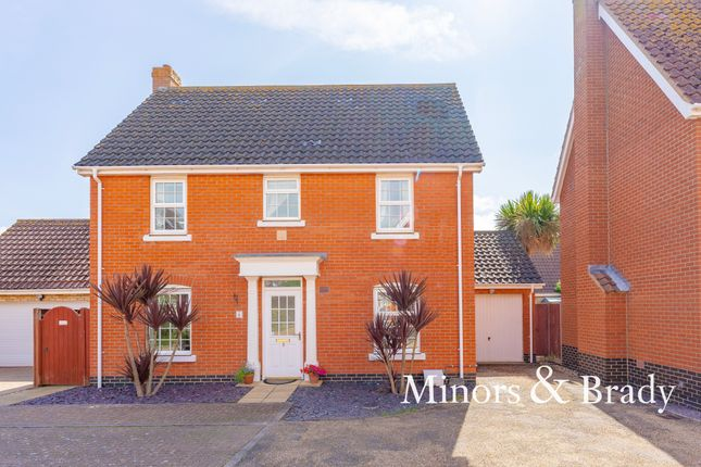 Thumbnail Detached house to rent in Paget Crescent, Gorleston, Great Yarmouth