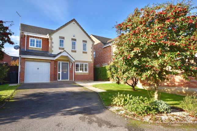 Thumbnail Detached house for sale in Leighton Close, Wellingborough