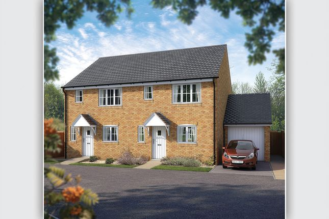 "Thumbnail Semi-detached house for sale in ""The Southwold"" at West Hill, Wincanton"