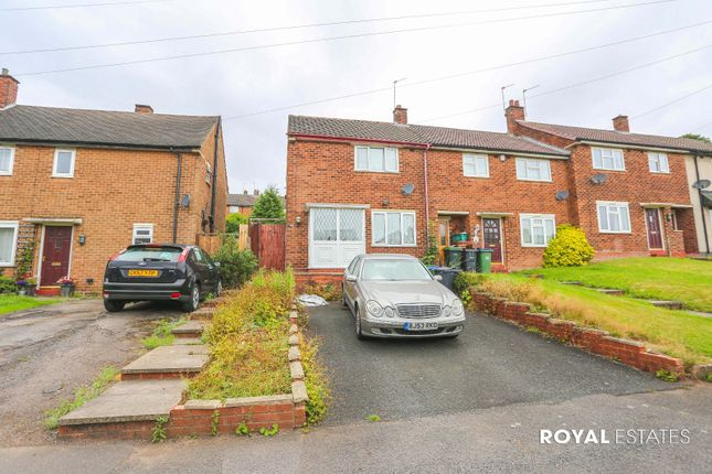 Thumbnail End terrace house for sale in Abberley Road, Oldbury, West Midlands