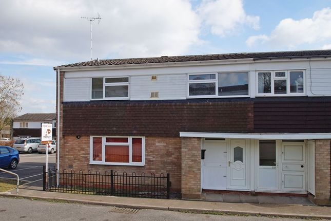 Thumbnail End terrace house to rent in Bushley Close, Redditch