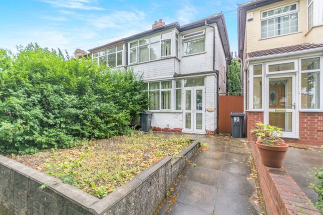 Thumbnail Semi-detached house for sale in Stockfield Road, Acocks Green, Birmingham