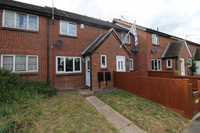 Thumbnail Terraced house to rent in Greenwich Gardens, Newport Pagnell, Buckinghamshire