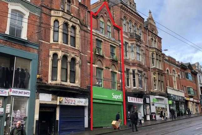 Thumbnail Retail premises for sale in 15 Market Street, Market Street, Nottingham