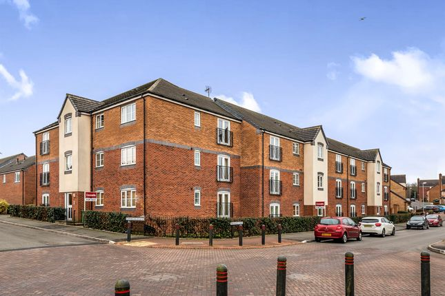 Thumbnail Flat for sale in Pheasant Way, Cannock