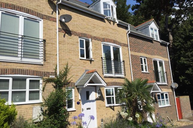 Thumbnail Town house to rent in Old Castle Road, Weymouth