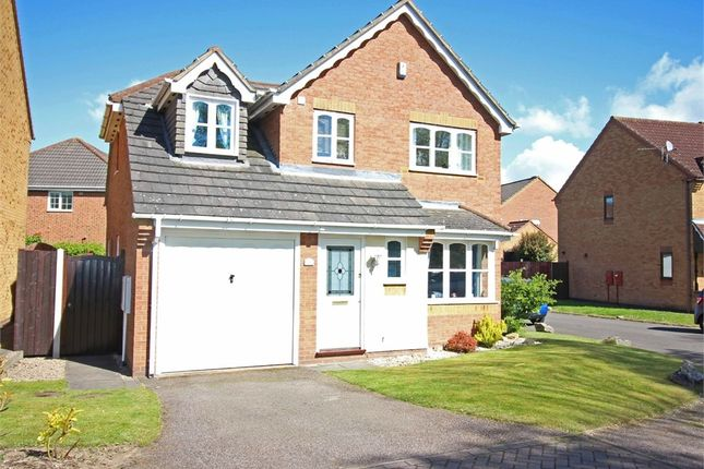 Thumbnail Detached house for sale in Harwood Drive, Dosthill, Tamworth, Staffordshire