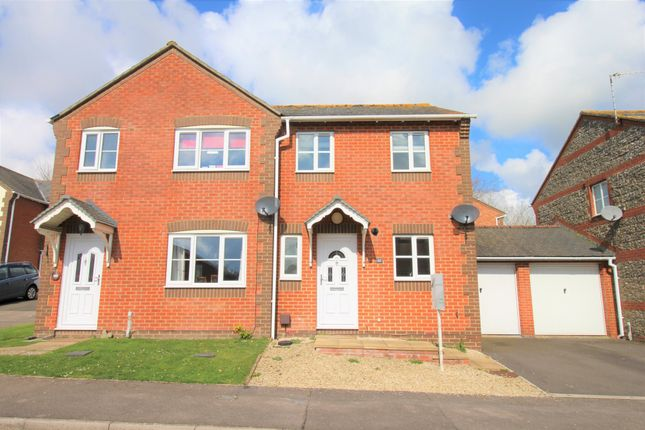 Thumbnail Semi-detached house for sale in Rockfel Road, Lambourn, Hungerford
