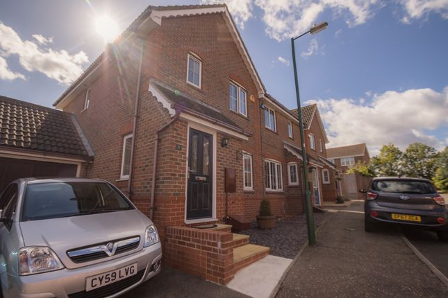 Thumbnail Semi-detached house for sale in Albra Mead, Springfield, Chelmsford