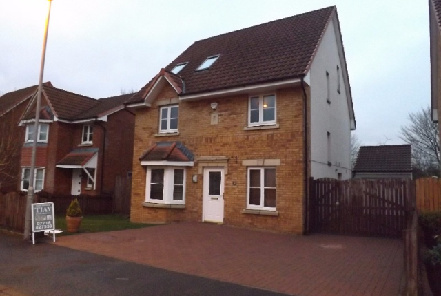 Thumbnail Detached house to rent in Dunnock Place, Coatbridge, North Lanarkshire, 4Us