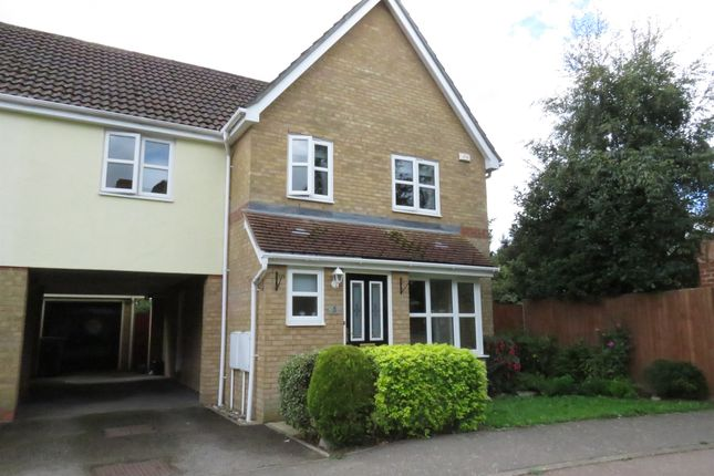 Thumbnail Detached house for sale in Wickham Crescent, Chelmsford