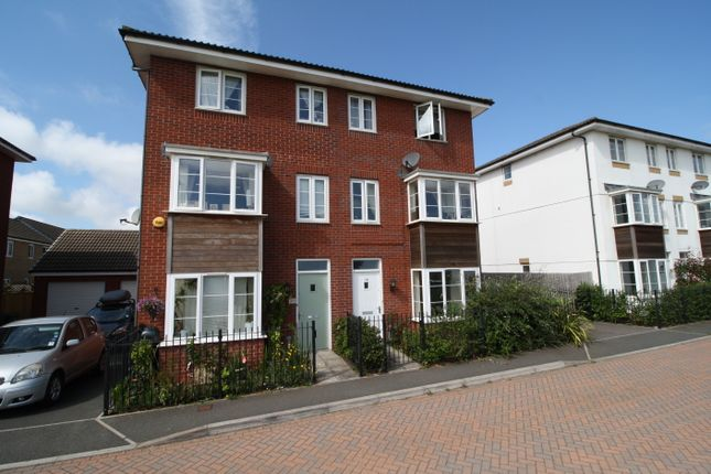 Thumbnail Terraced house to rent in Jack Sadler Way, Exeter
