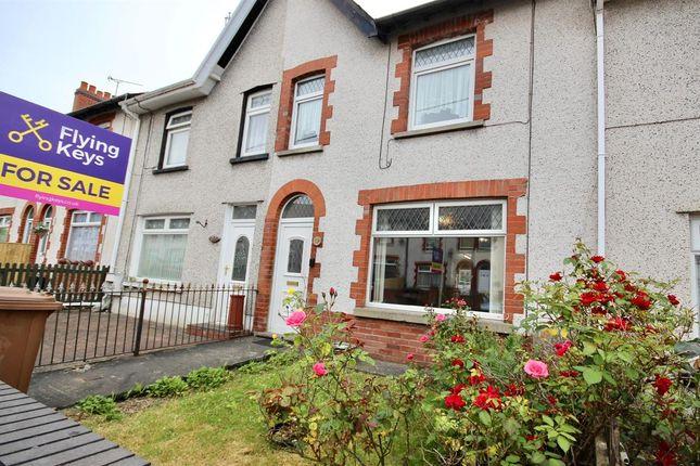 Thumbnail Terraced house for sale in Llwyn-On Road, Oakdale, Blackwood