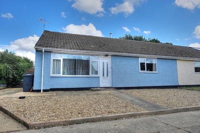 Thumbnail Semi-detached bungalow for sale in Ambleside, Fakenham