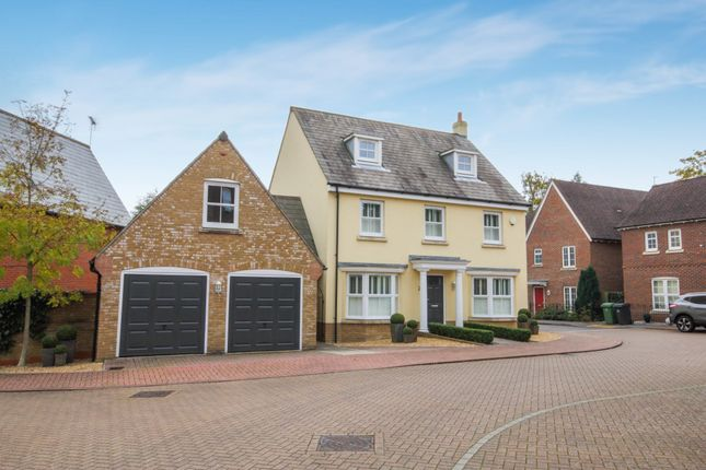 Thumbnail Detached house for sale in Otterbourne Walk, Sherfield-On-Loddon, Hook, Hampshire