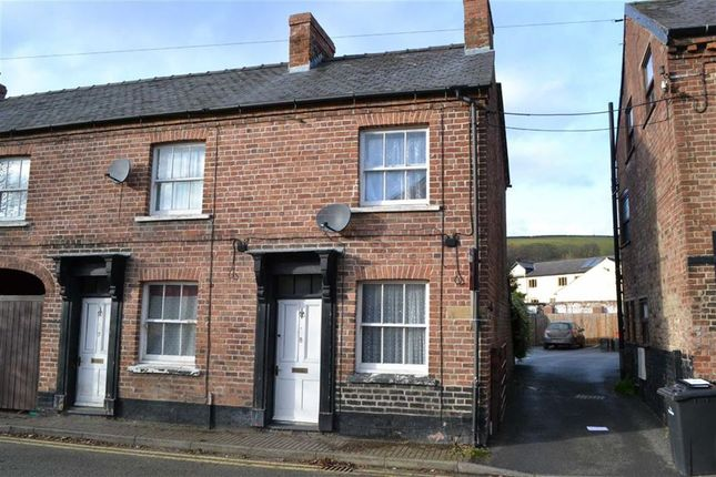 Thumbnail End terrace house for sale in 8, Old Church Street, Newtown, Powys