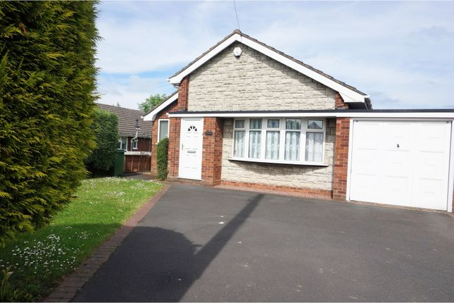 Thumbnail Detached bungalow for sale in St. Georges Road, Donnington Telford