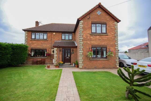 Thumbnail Detached house for sale in Redcar Road, Dunsdale, Guisborough