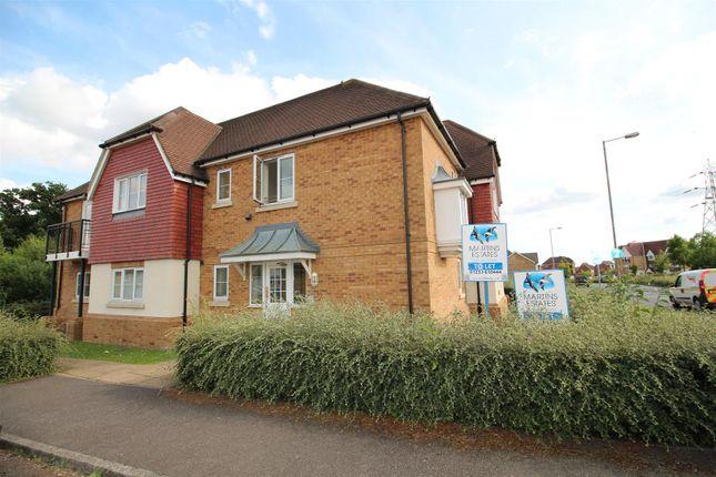 Thumbnail Flat to rent in 8 Brisley Close, Chartfields, Ashford, Kent.