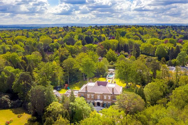 Thumbnail Detached house for sale in St. Georges Hill, Weybridge, Surrey
