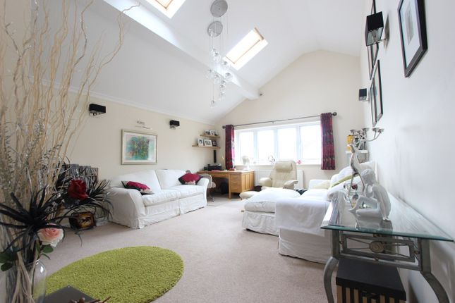 Thumbnail Detached bungalow for sale in Pells Close, Fleckney, Leicester