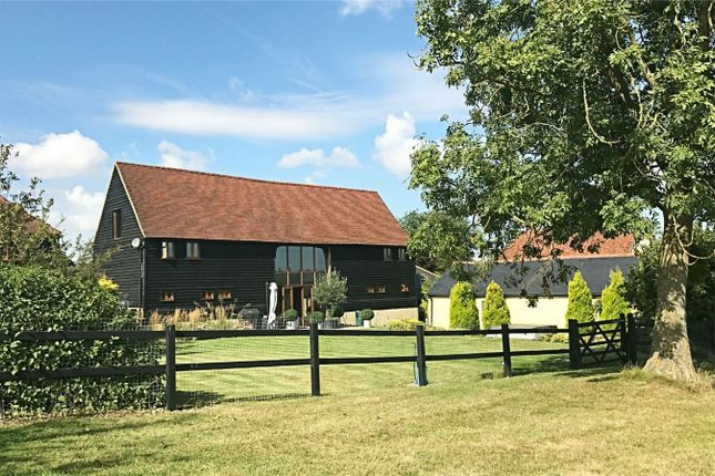 Thumbnail Barn conversion for sale in Magdalen Laver, Ongar, Essex