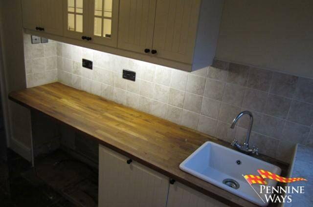 Kitchen  of Park Village, Haltwhistle, Northumberland NE49
