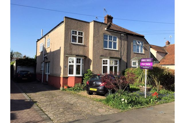 Thumbnail Semi-detached house for sale in Garden Avenue, Bexleyheath