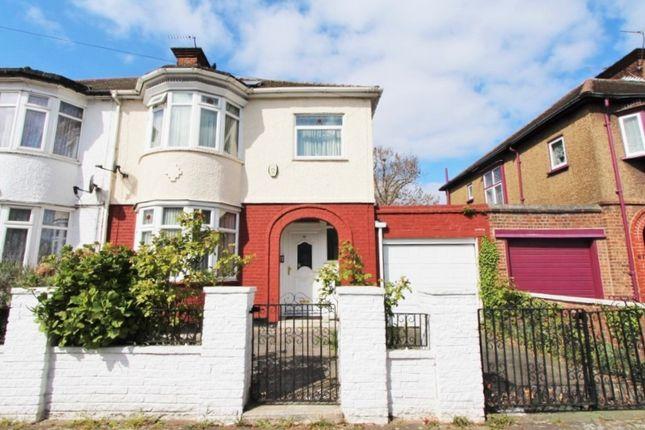 Thumbnail Semi-detached house for sale in Walpole Road, London