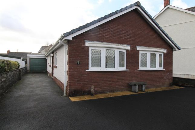Thumbnail Detached bungalow for sale in Heol Brown, Tycroes, Ammanford
