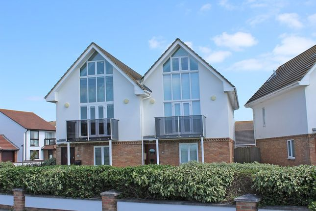 Thumbnail Semi-detached house for sale in Sea Road, Milford On Sea, Lymington