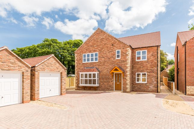 Thumbnail Detached house for sale in The Highrove Deluxe, Palmer Lane, Barrow-Upon-Humber, North Lincolnshire