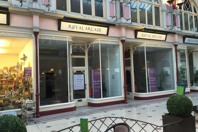 Thumbnail Retail premises to let in Unit 11, The Royal Arcade, Boscombe, Bournemouth, Dorset