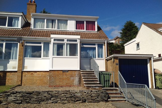 Thumbnail Semi-detached house to rent in Rhoshendre, Aberystwyth