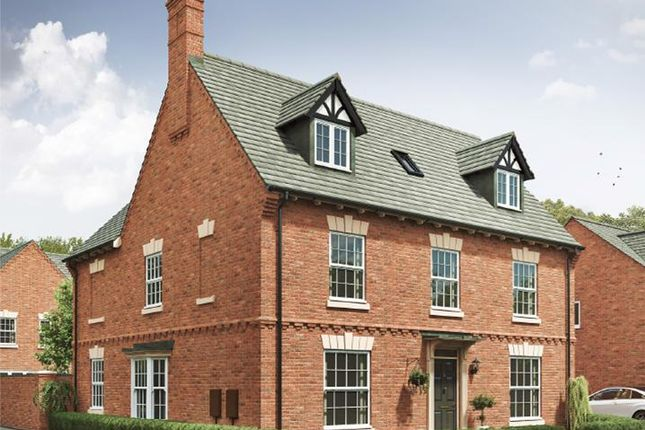 """Thumbnail Detached house for sale in """"5 Bedroom Detached House With Detached Double Garage"""" at Harvest Road, Market Harborough"""