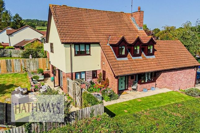Thumbnail Detached house for sale in The Chase, Ton Road, Llangybi, Usk