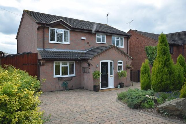 Thumbnail Detached house for sale in Sinfin Moor Lane, Chellaston, Derby