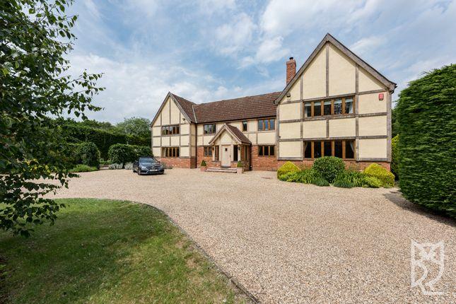 Thumbnail Detached house for sale in Lamarsh Road, Alphamstone, Sudbury, Suffolk