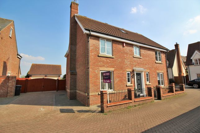 Detached house for sale in Pemberton Field, Rochford